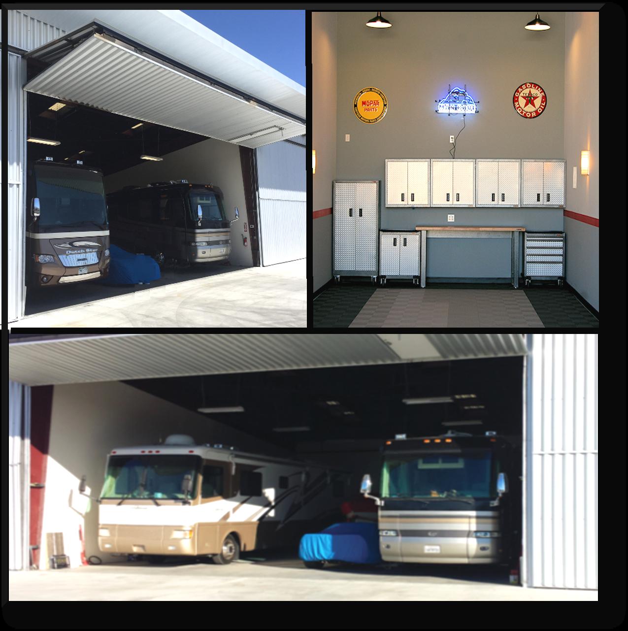 Palm Springs Monstore Garages